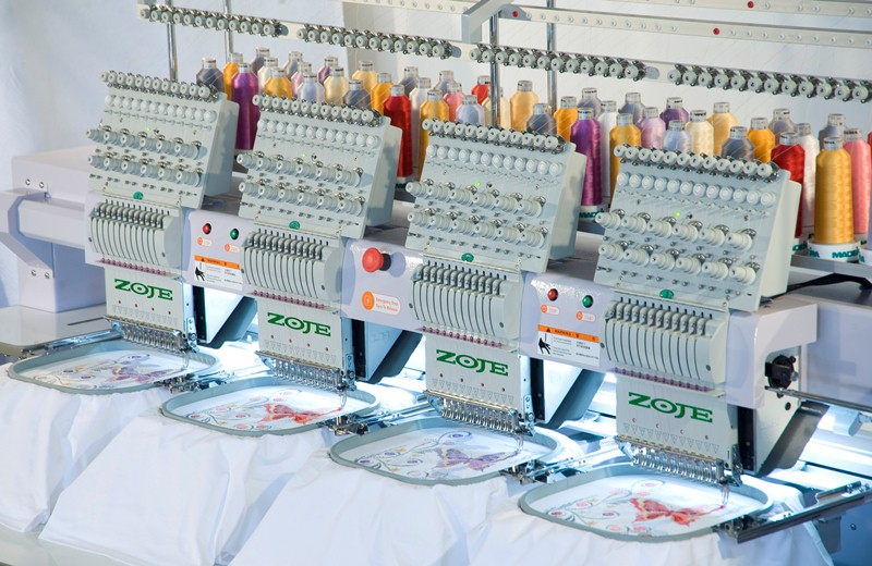Embroidery Machines we use
