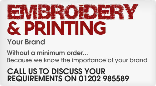 Our printing and embroidery poster